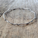 Antique Silver Moroccan Bangle