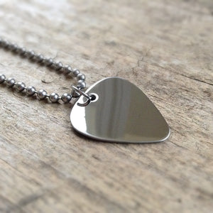 Men's Boho Guitar Pick Necklace
