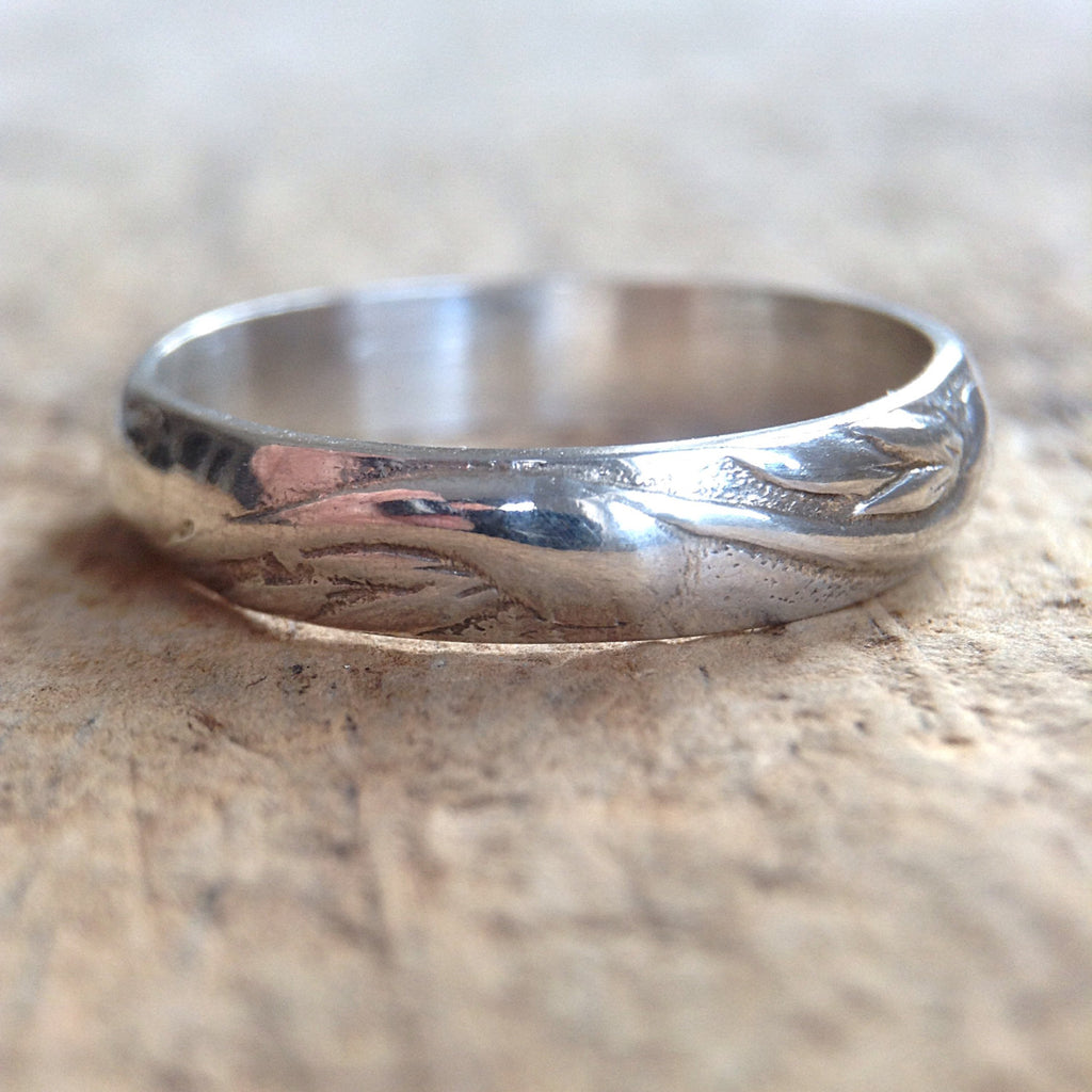 Sterling Silver Flourish Ring - TesoroDelSol