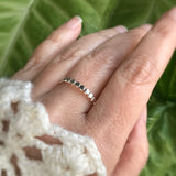 Sterling Silver Pebble Ring