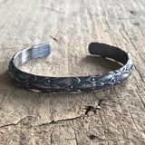 Men's Reptile Open Cuff Bangle