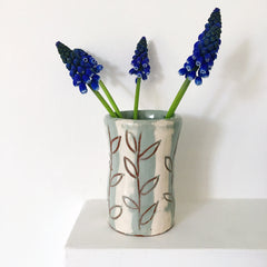 Small Vase - Spring leaves