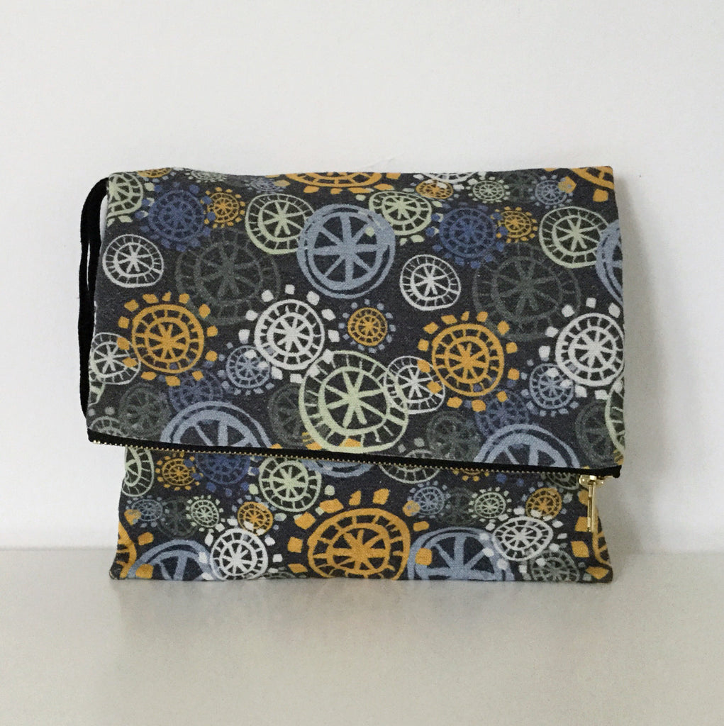 Clutch Bag - Yellow
