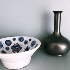 Blue And White Small Dish - 1