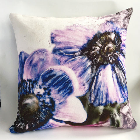Purple Anemone Cushion