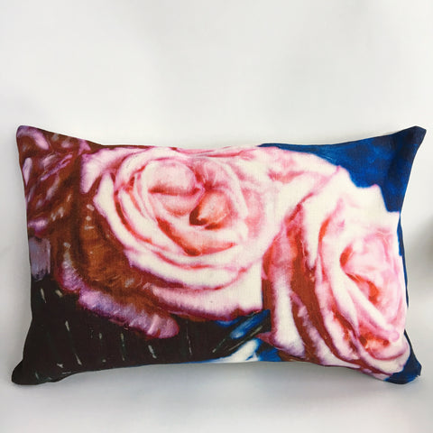 Pink Rose Cushion