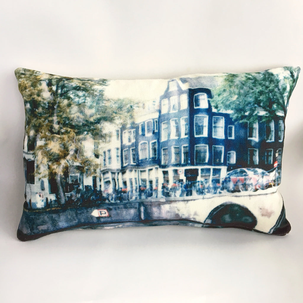 Amsterdam Canal Cushion Cover