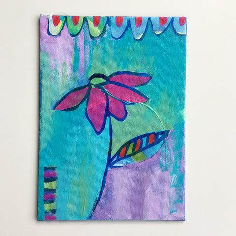 Summer Flower 1 - 5 x 7 inches