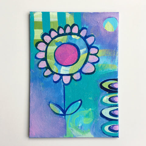 Summer Flower 3 -  5 x 7 Inches