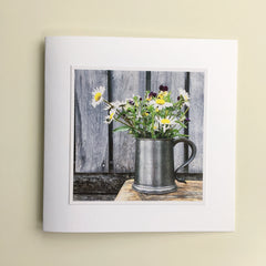 Floral Greetings Cards - Two
