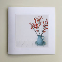 Two Greetings Cards - Winter Colours