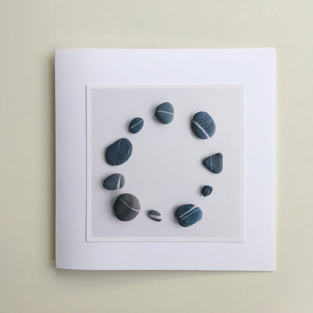Greetings Cards - Two - Pebbles
