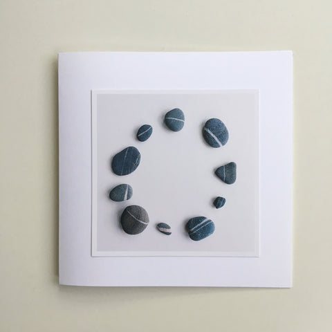 Two Greetings Cards - Two - Pebbles
