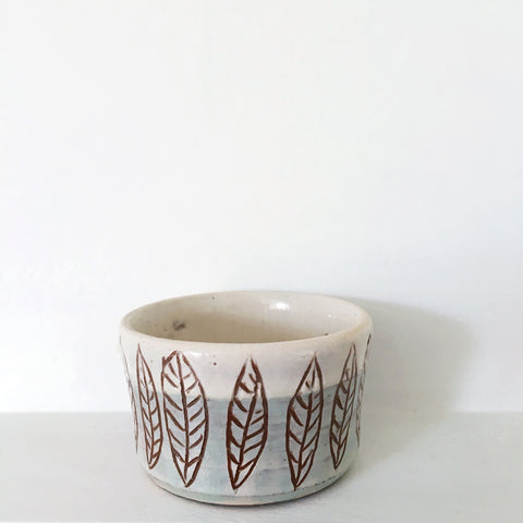 Plant Pot - Leaves 3