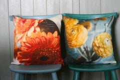 Yellow Ranunculus Cushion Cover