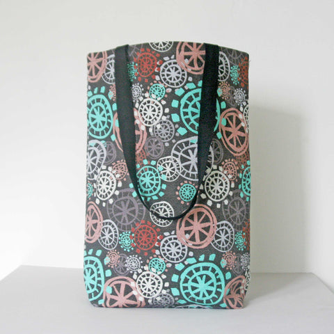 Tote Bag  ( Boxed ) - Aqua