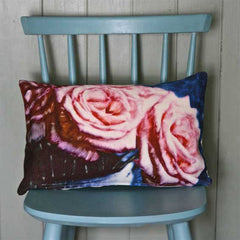 Pink Rose Cushion Cover