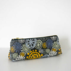 Pencil Case / Make Up Bag - Yellow