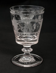 Georgian Table Glass