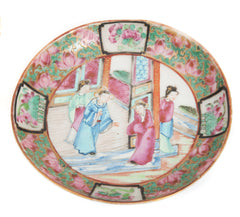 antique chinese canton famille rose porcelain
