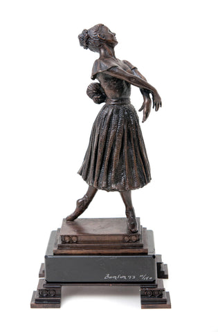 Benson Landes Ltd Edition Bronze Ballet Dancer Figure - Les Sylphides (Code 0119)