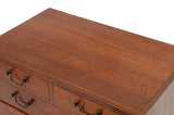 Antique Victorian/Edwardian Mahogany Wood Chest of Drawers Sewing/Jewellery Box (Code 1510)