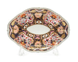 Antique Derby Imari Porcelain Shaped Dish with Scarce Pink Decoration c1790 (Code 2036)