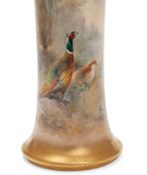 Royal Worcester China James Stinton Woodland Pheasants Hand Painted Vase 1934 (Code 2100)
