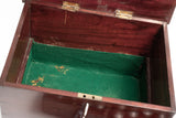 Antique Chemists Scientific Box with Contents, Mahogany Wood Victorian/Edwardian (Code 2218)