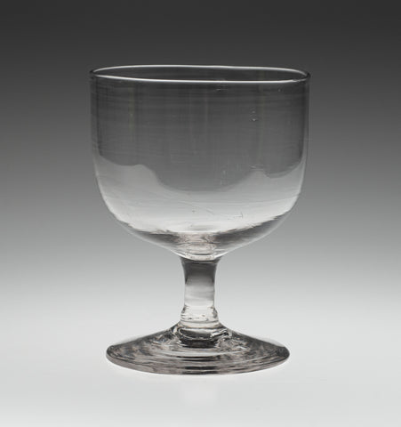 Early 19th Century Georgian Glass Rummer with Stem c1800 - English Lead Type (Code 2342)