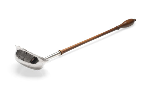 Georgian Antique Silver Toddy Ladle with Turned Wooden Handle c1820 (Code 2401)