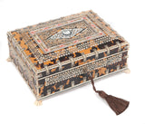 An Anglo-Indian Vizagapatam Ivory and Tortoiseshell Jewellery Box (Code 8109) - Blue Cherry Antiques - 3