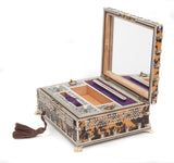 An Anglo-Indian Vizagapatam Ivory and Tortoiseshell Jewellery Box (Code 8109) - Blue Cherry Antiques - 2