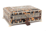 An Anglo-Indian Vizagapatam Ivory and Tortoiseshell Jewellery Box (Code 8109) - Blue Cherry Antiques - 4