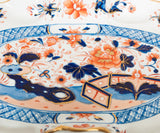 Rare Early Masons Patent Ironstone Japan Pattern Fruit Stand - Antique c1820 (Code 8432) - Blue Cherry Antiques - 7