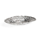 Sterling Silver Bonbon/Sweets Dish With Pierced Work - Vintage 1948 (Code A471)