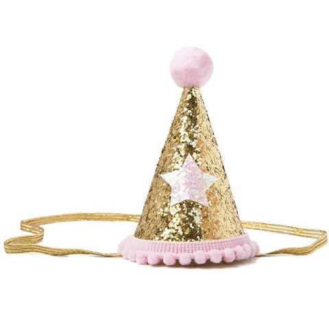 Henny & Coco Pink Party Hat