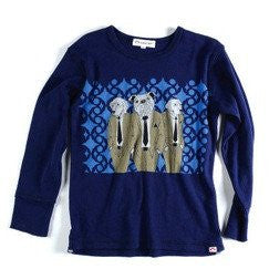 Appaman Galaxy Long Sleeve Dogs Tee (6-12M)