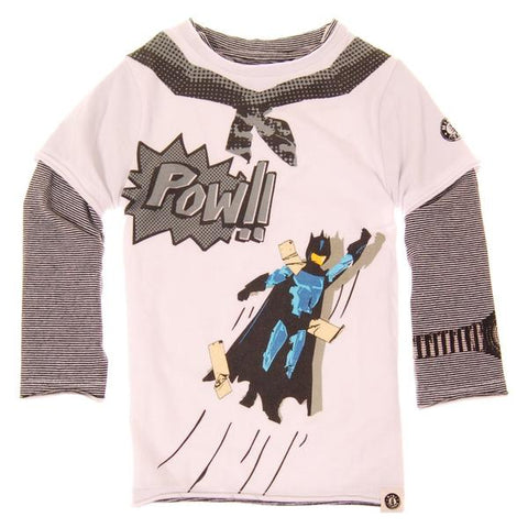Mini Shatsu Pow Superhero Shirt (2T)