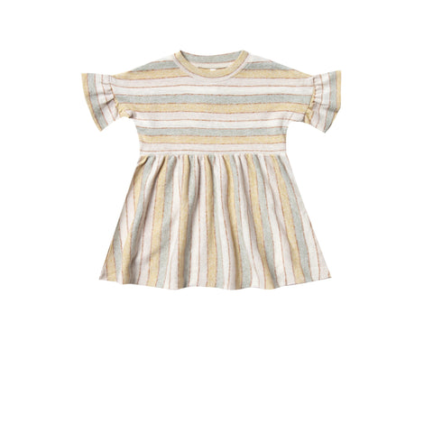 Rylee & Cru Striped Babydoll Dress