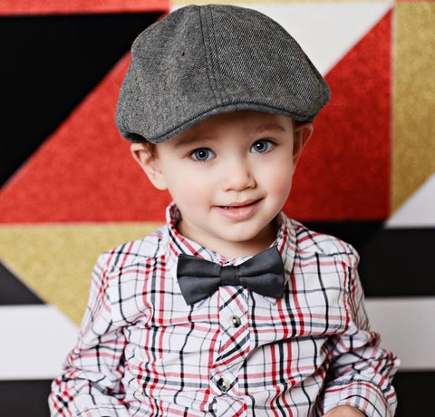 Blueberry Hill Cooper Tweed Driving Cap (3-5yrs)