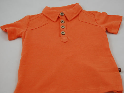 Fore!! Axel & Hudson Short Sleeve Polo - Sunset