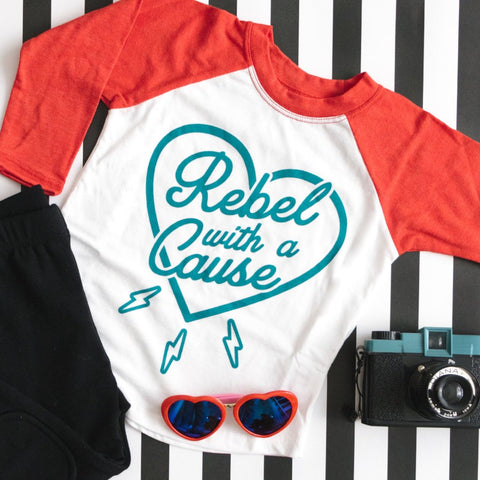 rebel girl power shirt