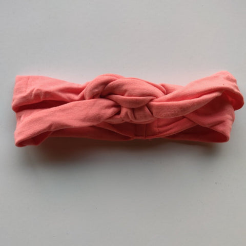 KicKee Pants Strawberry Pink Knot Headband