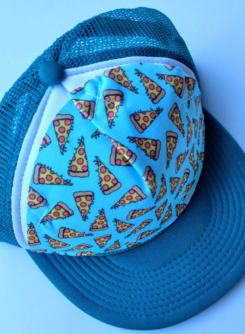 Pizza Blue/Green Snapback