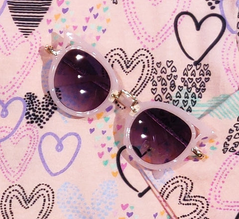 Hipster Baby Cat Eye High Fashion Sunglasses