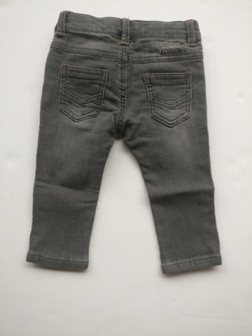 3 Pommes Black Wash Jeans (12-18M)