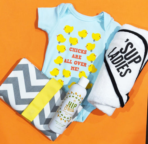 Sara Kety Chicks All Over Me Onesie