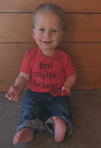 Most Eligible Bachelor Baby Tee