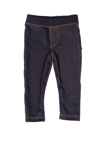 Joah Love Gavin Black Denim Knit Pants (8yrs)